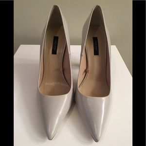 Zara ivory pointy toe heel 40/9 new!